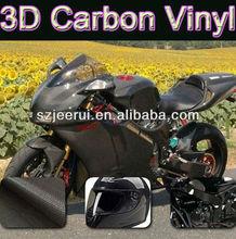 3D carbon fiber vinyl,car paint protective film,car stick design with air bubble channel
