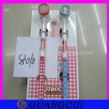 fashion plastic magnifier pen ballpoint for students
