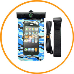for iPod Touch 5 Compass Waterproof Case Bag 2013 NEW Blue from Dailyetech CE ROHS IPX6 Certificate