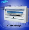 Série ntsm 18 formas de distribuição de energia caixa deinterruptor/encloure passou o certificado do ce rohs