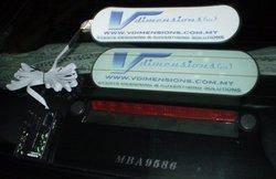 Electro-luminescent (EL) Car Sticker