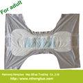 No tejido suave pañales para adultos bragas