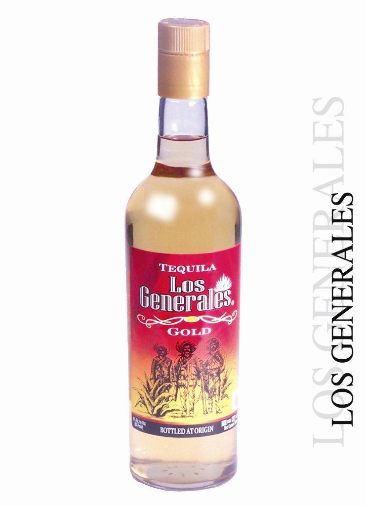 Tequila Los Tequila Los Generales Gold