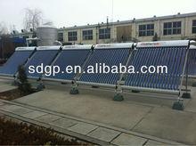 evacuated tube solar collector split pressurized solar collector