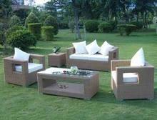 PVC Rattan Sofa Set