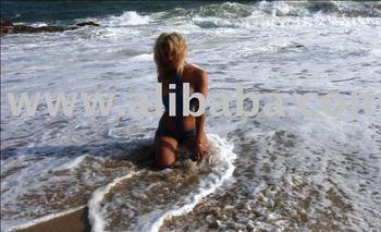 One piece Latex Swimsuit