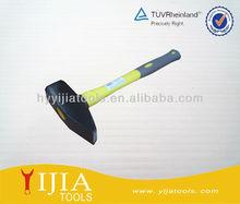 Rubber handle sledge hammer