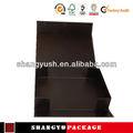 Pet caixa de embalagem impressos, satin caixa de chocolate, convite de casamento cartão de guangzhou