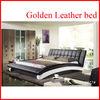 China Alibaba wide platform design wooden bed models B2877#