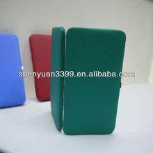 Dongguan classical customed organizer Women Metal Frame hinge wallet case clutch evening purse bag for USA