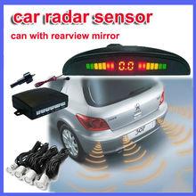 4 Parking Sensors LED Display Car Reverse Backup Radar