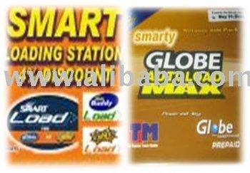 smart, globe an sun loading station