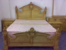 Doble de madera - juego de cama