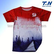 plain soccer/football jersey custom design formen