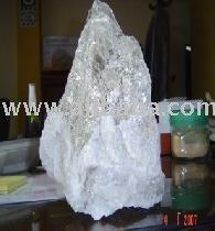 silvery muscovite mica