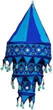 10 Indian Handicraft 3 Step Cotton Mirror Lamp Shades