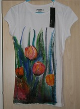 Hand Painted T shirt