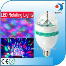 Fantasy RGB LED bombillas lights 3w e27 party light decor