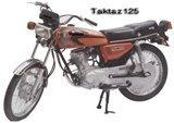 TAKSAZ 125 cc MOTORCYCLE