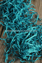Teal Blue Paper Shred