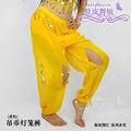 swegal 2013 sgbdp13032 1 color amarillo de la moda sexy danza del vientre pantalones bombachos