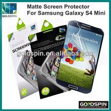 2013 S4 Mini Hit Market !! Matte Film For Samsung Galaxy S4 Mini