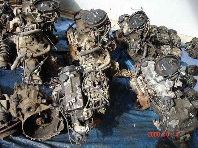Motor - usado del motor F8C para Daewoo Tico