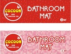 Bathroom Mat (3 pc Mat set)