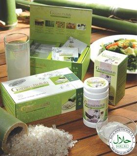 Hai-O Garam Buluh (Bamboo Salt) Premier Cooking Salt Powder & Premier Drink