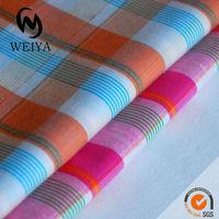 100% Yarn Dyed Fabric Cotton