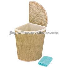 Wholesale Seagrass hamper Laundry Basket corner
