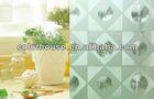 The sparkle diamond and cat eyes pattern 3D decorative glass window film