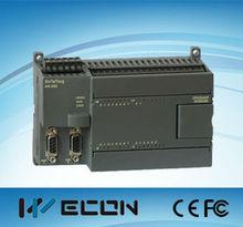 Wecon plc- siemens s7-300 plc programación por cable disponible, menor que el plc siemens s7-300 precio