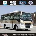 Dongfeng 6 M mediano - grande de autobuses de la ciudad dimensiones con 18 asientos, Frente con motor