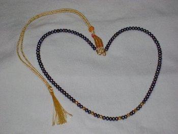 Hyderabadi Black Pearl Necklace