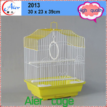 Pet bird house outdoor wooden bird cage
