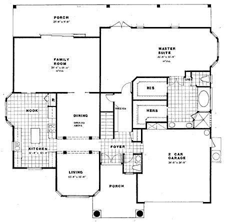 Elegant Home Plans Design The