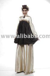 Gaun Batik Muslim apparel