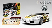 R/C building block race car with sound and flash light rc car
