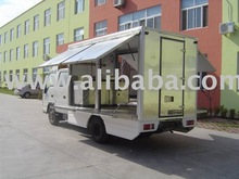 Catering truck body