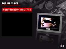 Digital photo frame OPU-711