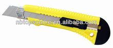 Hot Sale Mini Cheap Plastic Super Portable Folding Sliding Retractable School Safe utility craft knife for promotion
