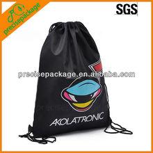 Hot selling OEM welcom cute cartoon nylon fashion drawstring gift bags (PRD-902)