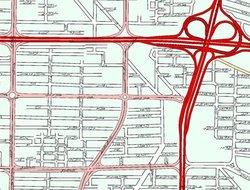 Tehran / Iran street map gps