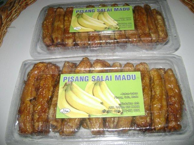 Pisang Salai Madu snack