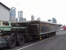 Venta barcaza a bordo 15 m X 4 m de contenedores barcaza a bordo