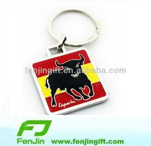 metal spain bullfight travel souvenir