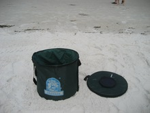 foldable fishing bucket