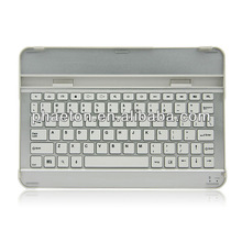 "aluminum wireless bluetooth keyboard case for Samsung galaxy tablet 10.1"" P7500"