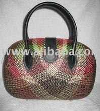 Oblong Buntal (Abstract) Handbag